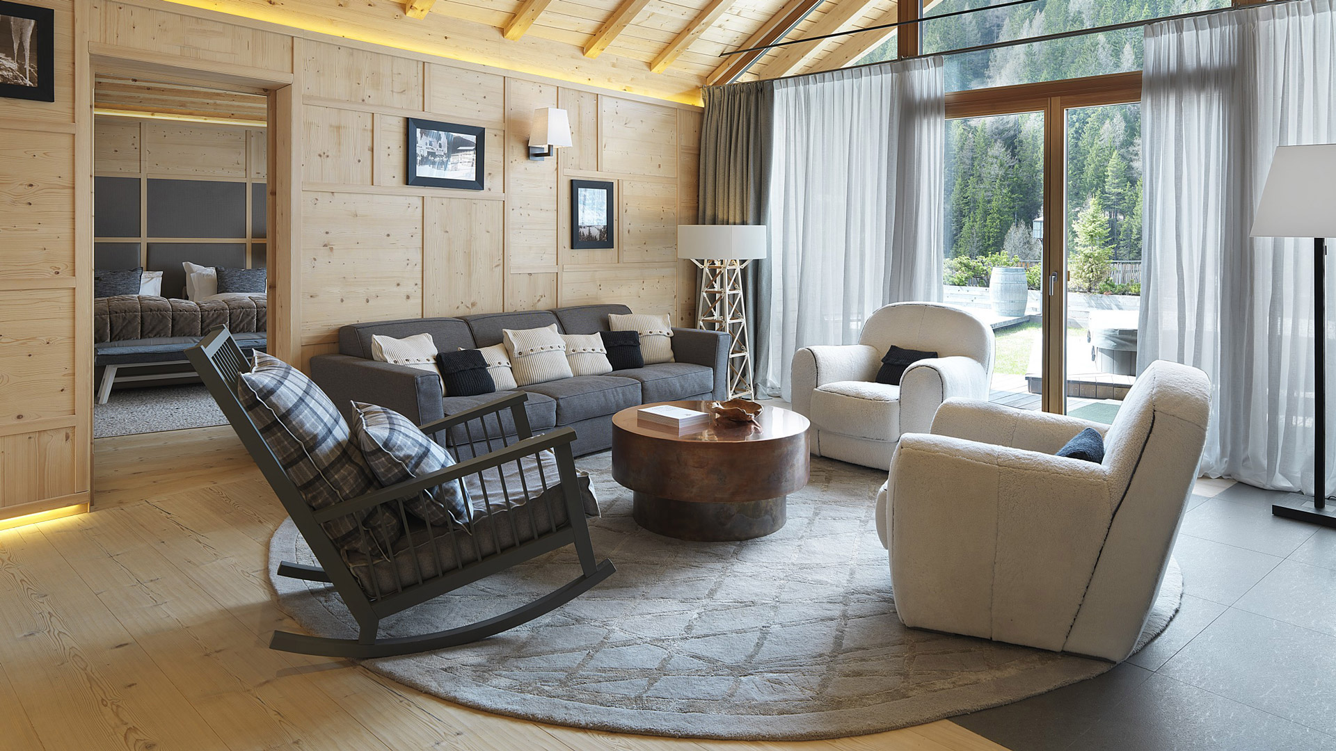 Chalet in montagna dal sapore scandinavo